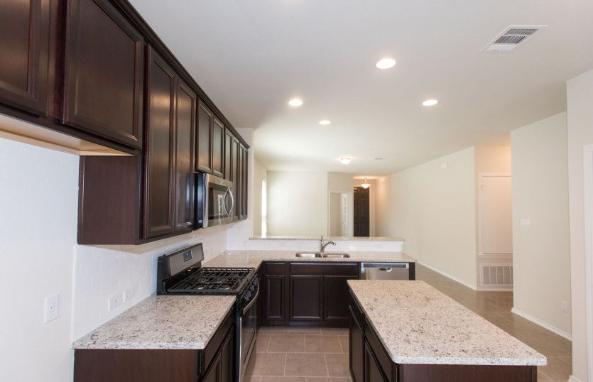 Kitchen featured in the Independence By Centex Homes in San Antonio, TX