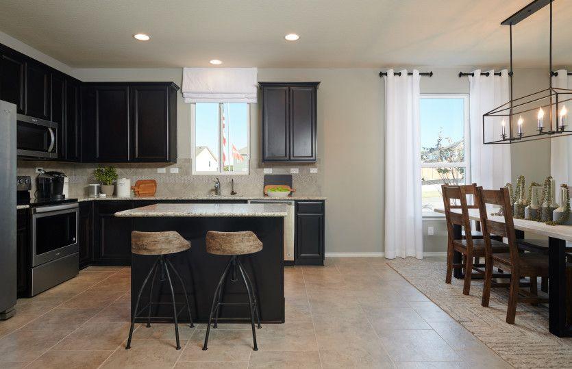 Kitchen-in-Hewitt-at-Sterling Ridge-in-San Antonio