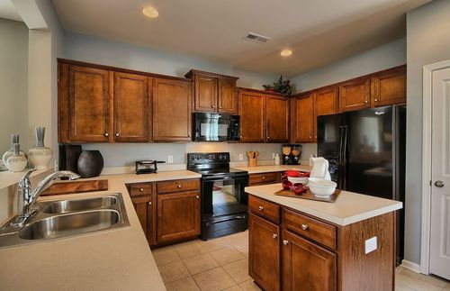 Kitchen-in-Douglas-at-Elley Crossing-in-New Braunfels