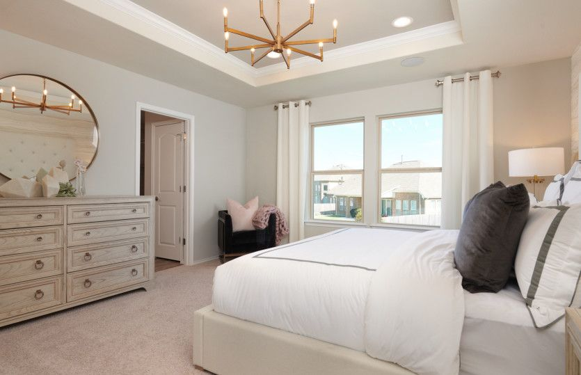 Bedroom featured in the Lincoln By Centex Homes in Austin, TX
