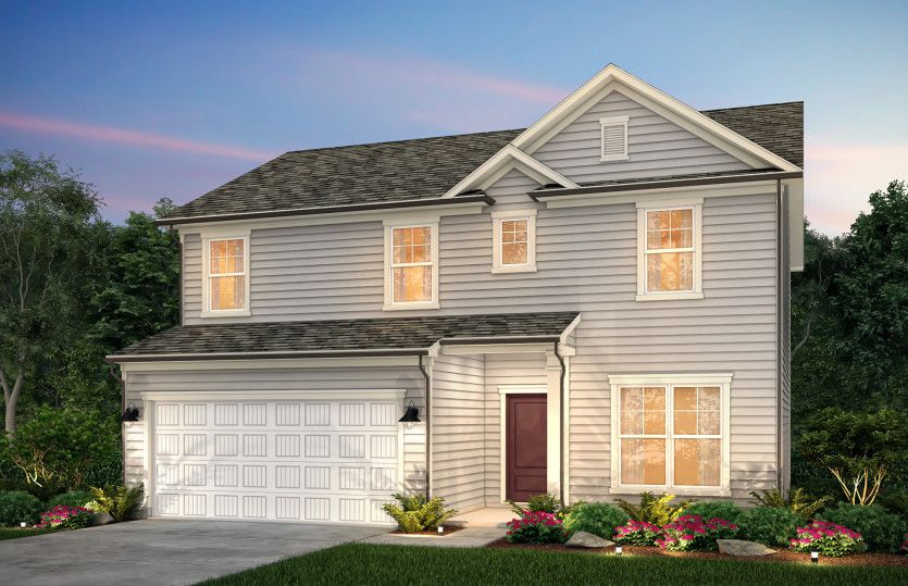 Exterior featured in the Aspire By Centex Homes in Raleigh-Durham-Chapel Hill, NC