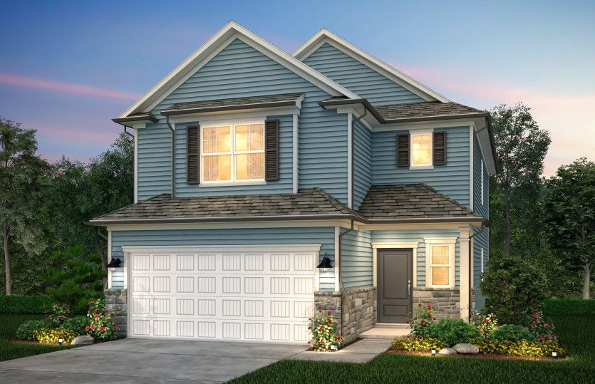 Exterior featured in the Harris By Centex Homes in Raleigh-Durham-Chapel Hill, NC