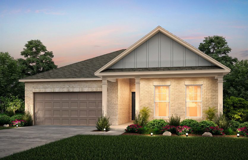 Exterior featured in the Rosemont By Centex Homes in Nashville, TN