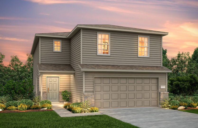 Exterior featured in the Pierce By Centex Homes in Houston, TX