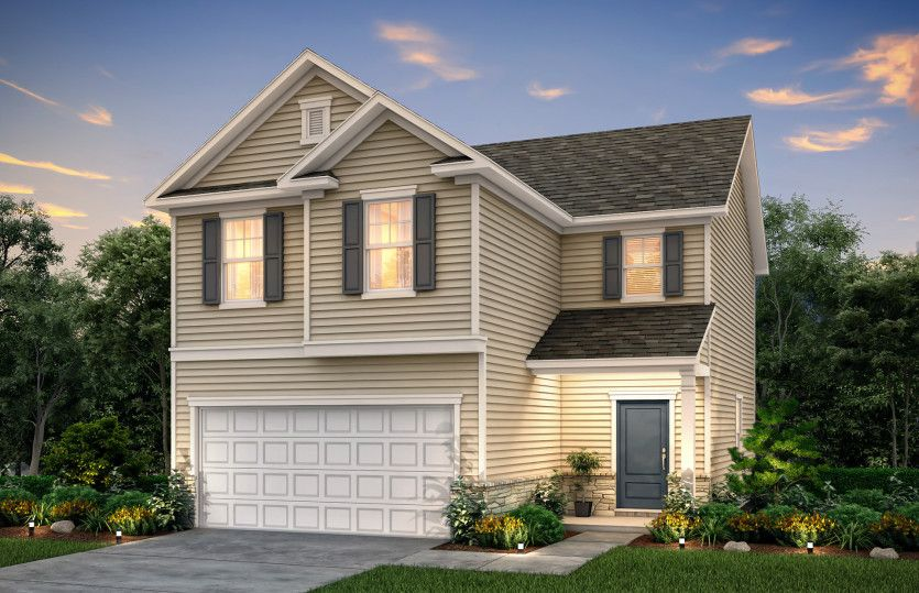 Exterior featured in the Douglas By Centex Homes in Atlanta, GA