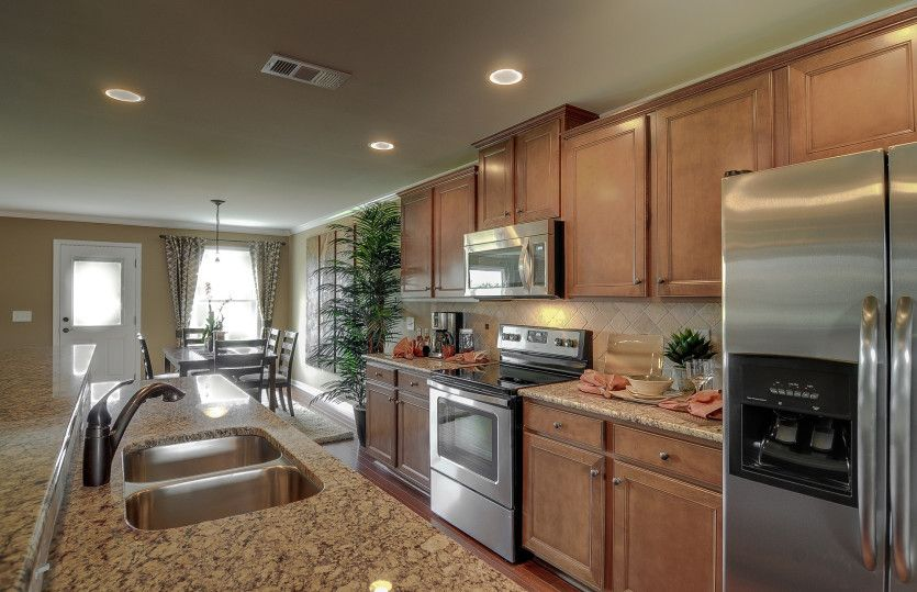 Kitchen-in-Mitchell-at-Wildwood at Avalon-in-McDonough