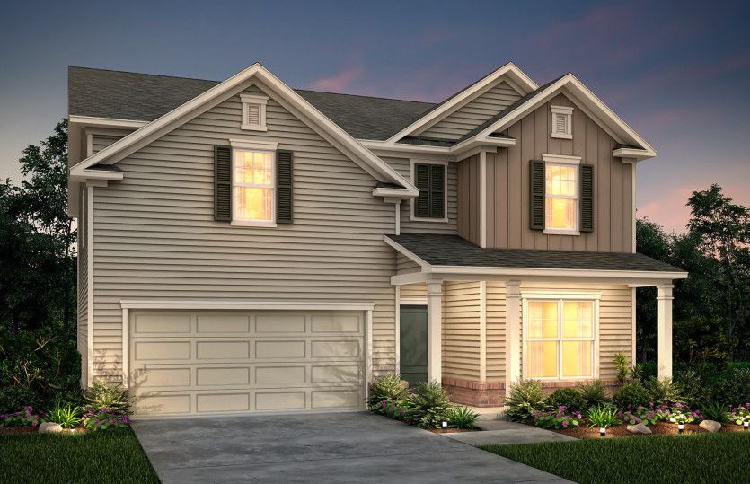 Exterior featured in the Pennington By Centex Homes in Atlanta, GA