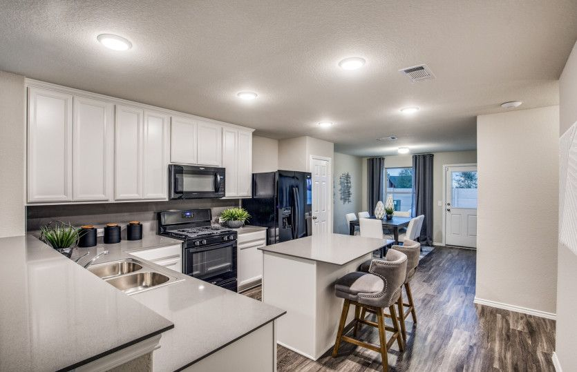 Kitchen featured in the Taft By Centex Homes in Houston, TX