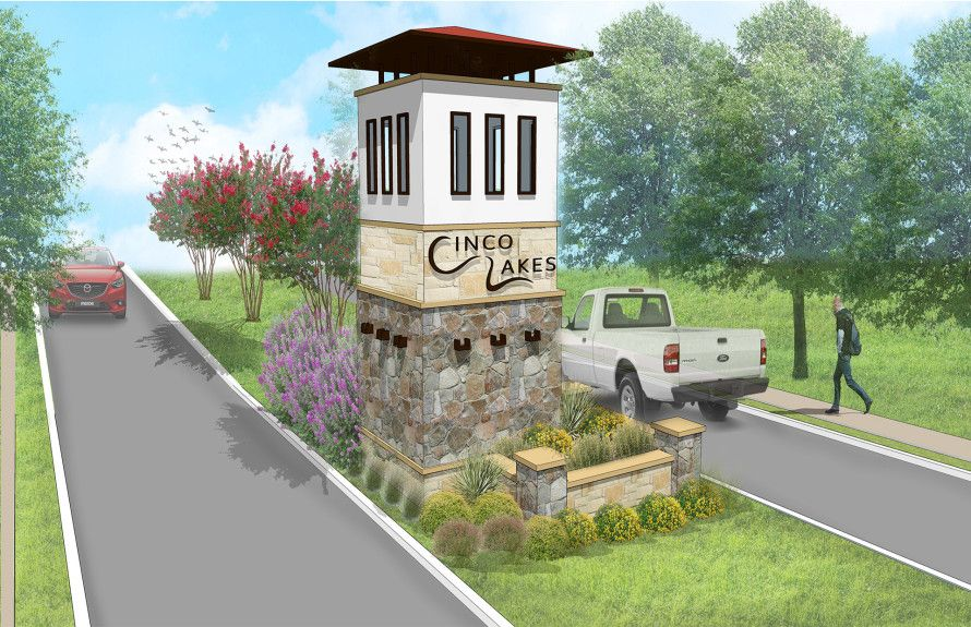'Cinco Lakes' by Centex Homes - Texas - The San Antonio Area in San Antonio