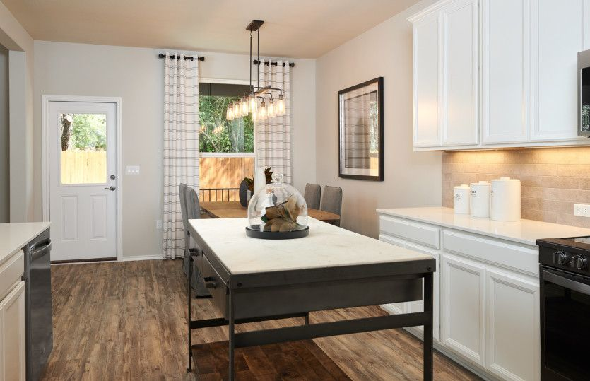 Kitchen featured in the Springfield By Centex Homes in Austin, TX