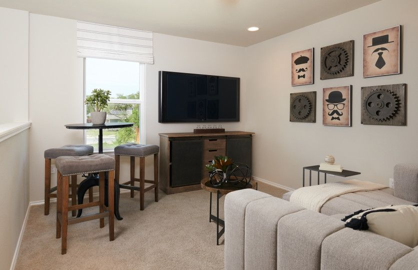 Living Area featured in the Springfield By Centex Homes in Austin, TX