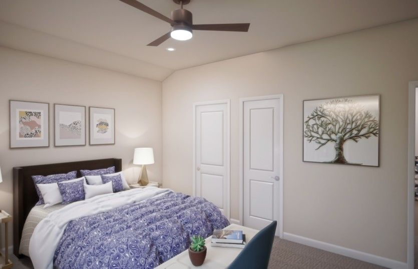Bedroom featured in the Compton By Centex Homes in Raleigh-Durham-Chapel Hill, NC