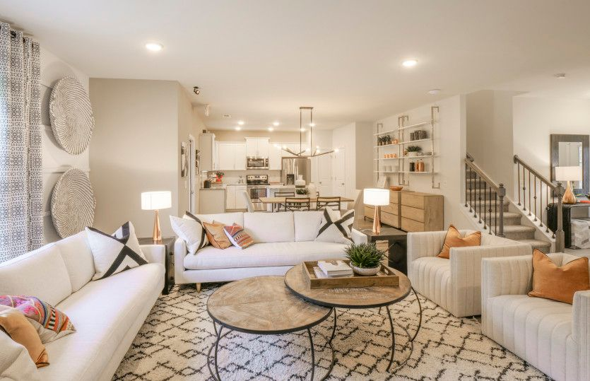 Living Area featured in the Aspire By Centex Homes in Raleigh-Durham-Chapel Hill, NC