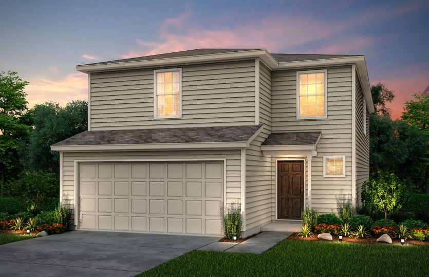 Exterior featured in the Modena By Centex Homes in San Antonio, TX