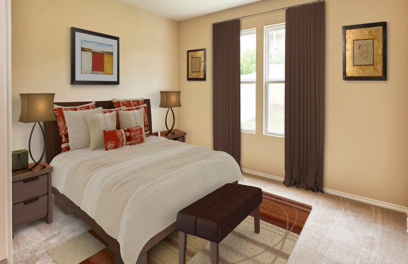 Bedroom featured in the Adams By Centex Homes in San Antonio, TX