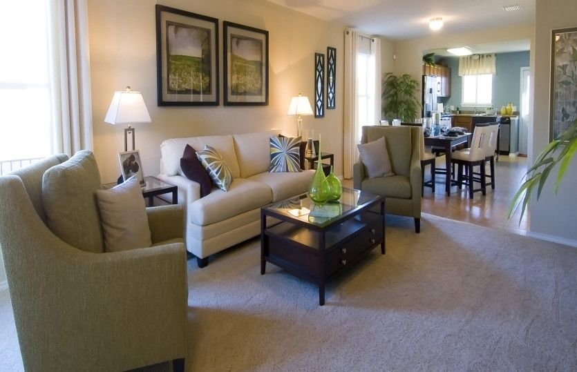 Living Area featured in the Becket By Centex Homes in San Antonio, TX