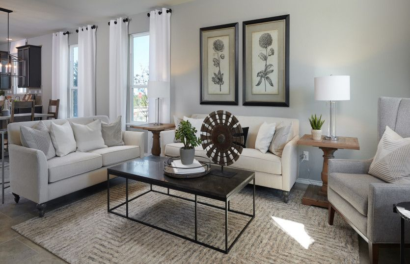 Living Area featured in the Hewitt By Centex Homes in San Antonio, TX