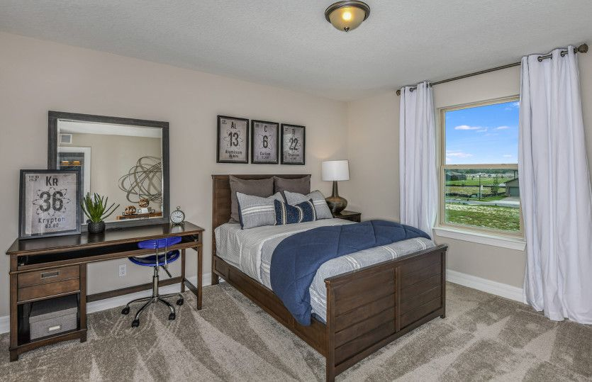 Bedroom featured in the Mariner By Centex Homes in Tampa-St. Petersburg, FL