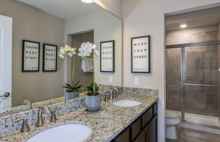 Bathroom featured in the Mariner By Centex Homes in Tampa-St. Petersburg, FL