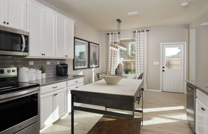 Kitchen featured in the Springfield By Centex Homes in Houston, TX