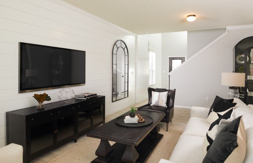 Living Area featured in the Springfield By Centex Homes in Houston, TX