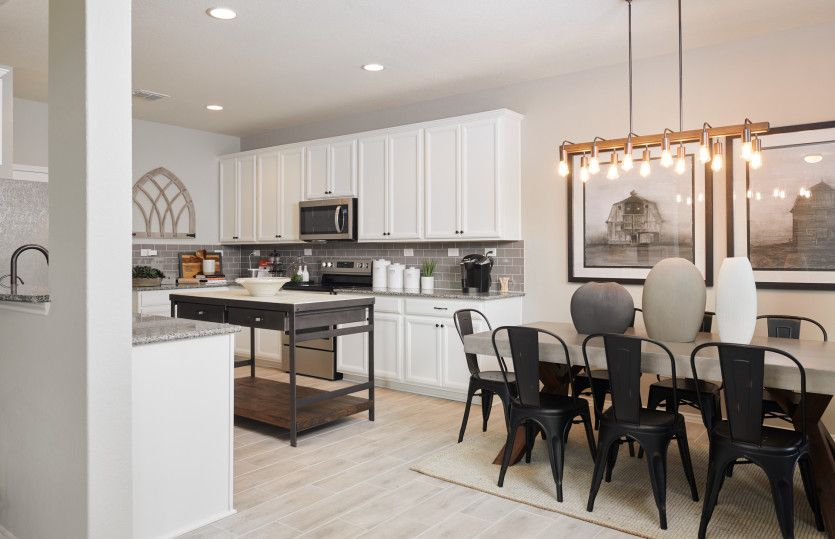 Kitchen featured in the Springfield By Centex Homes in San Antonio, TX