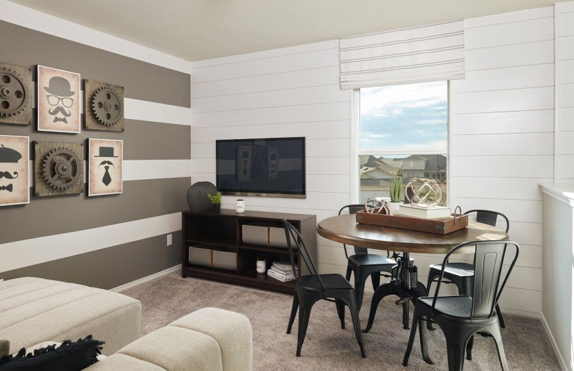 Living Area featured in the Springfield By Centex Homes in San Antonio, TX