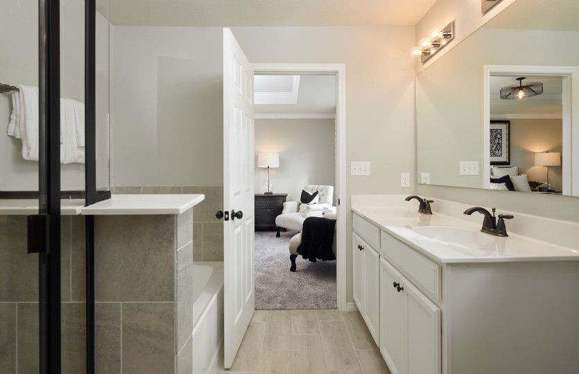 Bathroom featured in the Springfield By Centex Homes in San Antonio, TX
