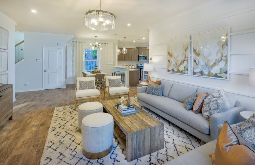 Living Area featured in the Harris By Centex Homes in Raleigh-Durham-Chapel Hill, NC