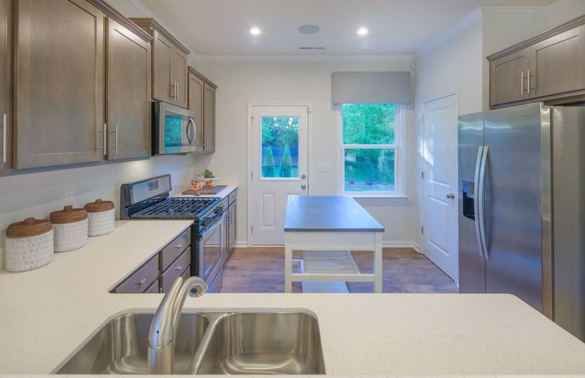 Kitchen featured in the Harris By Centex Homes in Raleigh-Durham-Chapel Hill, NC