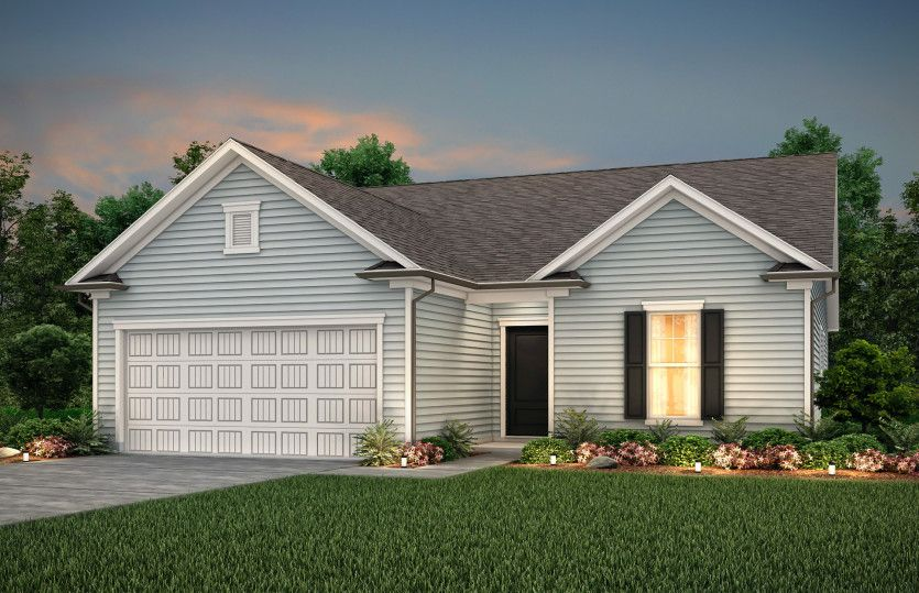 Exterior featured in the Compton By Centex Homes in Wilmington, NC