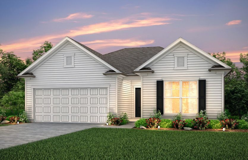 Exterior featured in the Rosemont By Centex Homes in Myrtle Beach, SC