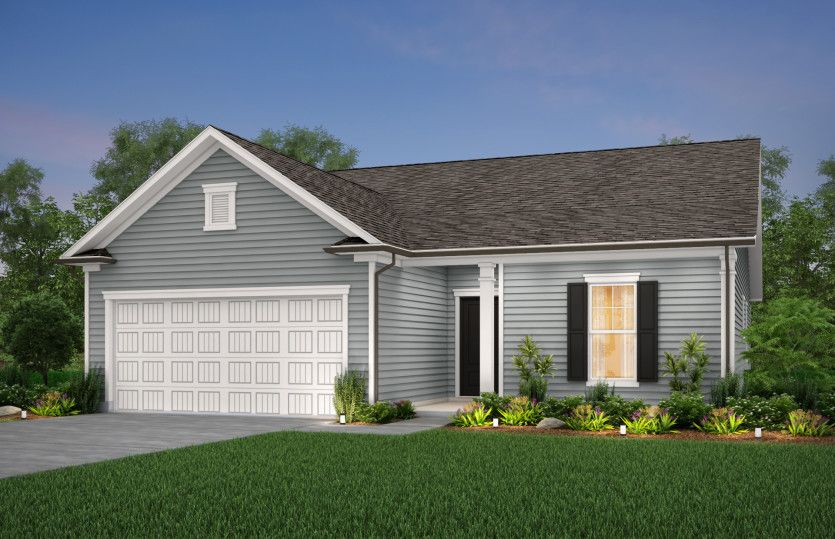 Exterior featured in the Compton By Centex Homes in Myrtle Beach, SC