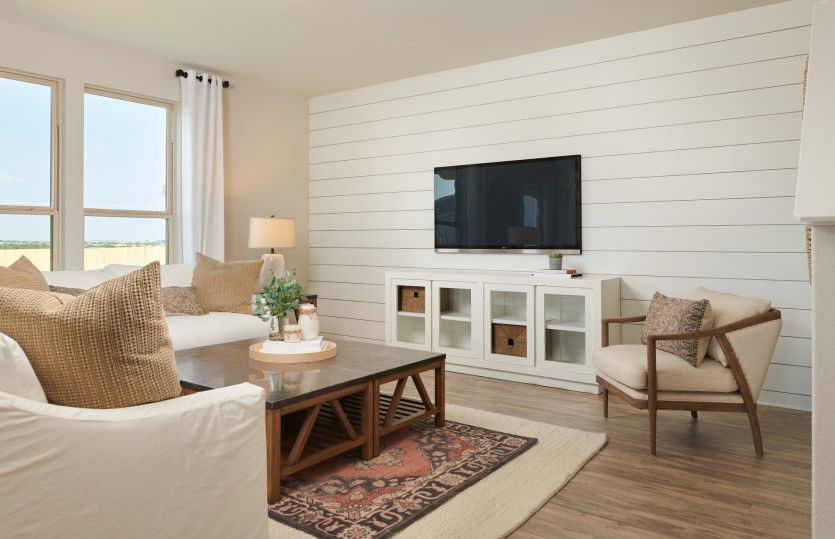 Living Area featured in the Sandalwood By Centex Homes in Austin, TX