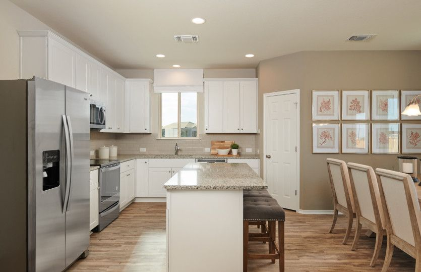 Kitchen featured in the Sandalwood By Centex Homes in Austin, TX