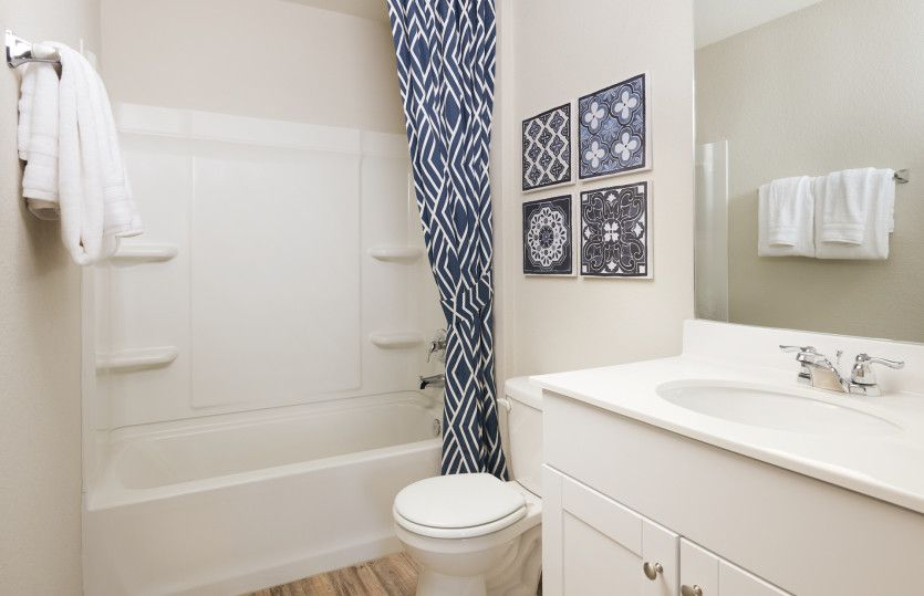 Bathroom featured in the Sandalwood By Centex Homes in Austin, TX