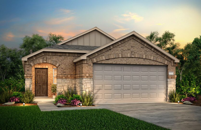 Exterior featured in the Taft By Centex Homes in Sherman-Denison, TX