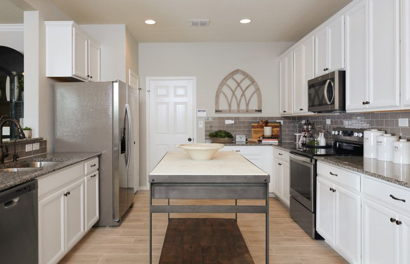 Kitchen featured in the Springfield By Centex Homes in Sherman-Denison, TX