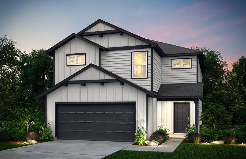 Exterior featured in the Springfield By Centex Homes in Houston, TX