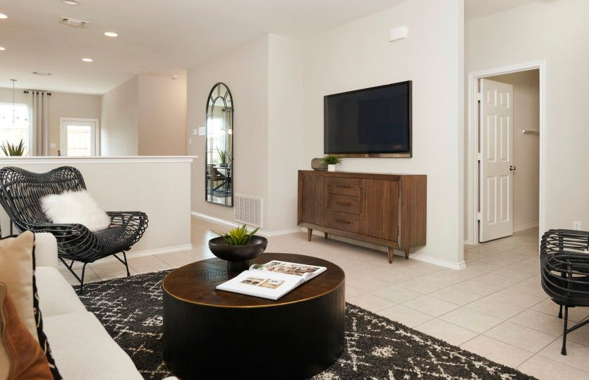 Living Area featured in the Taft By Centex Homes in Austin, TX