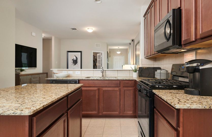Kitchen featured in the Taft By Centex Homes in Austin, TX