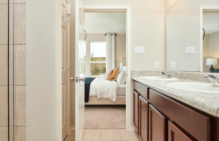 Bathroom featured in the Taft By Centex Homes in Austin, TX