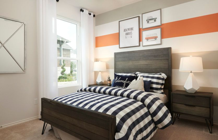 Bedroom featured in the Taft By Centex Homes in Austin, TX