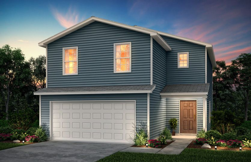 Exterior featured in the Pierce By Centex Homes in San Antonio, TX