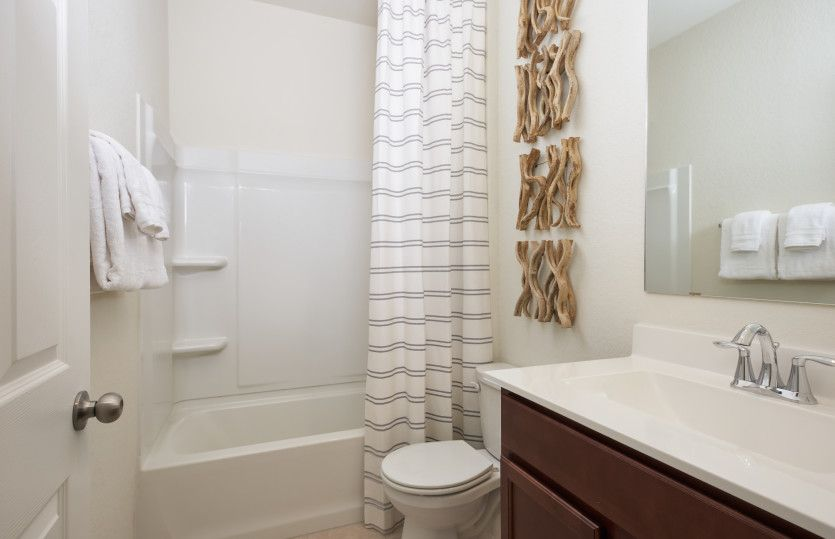 Bathroom featured in the Lincoln By Centex Homes in San Antonio, TX