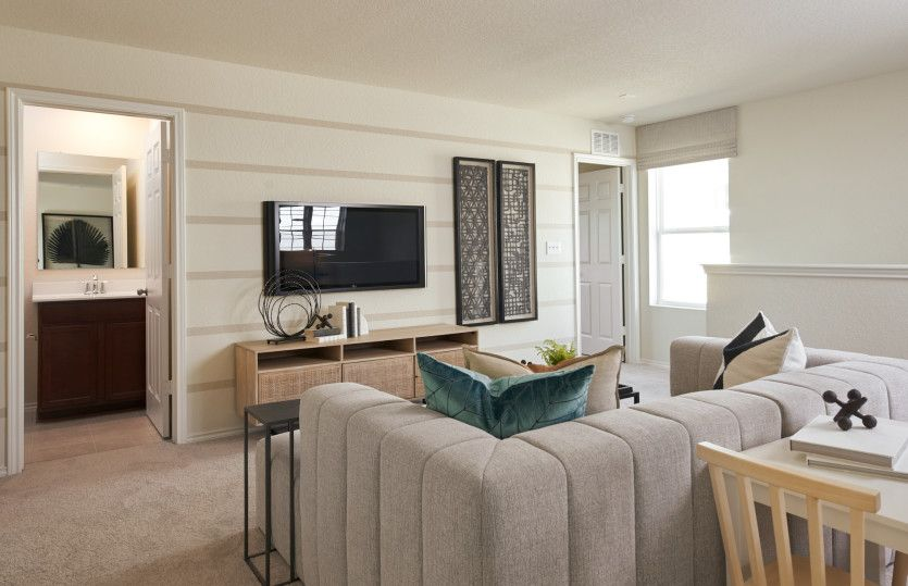 Living Area featured in the Lincoln By Centex Homes in San Antonio, TX