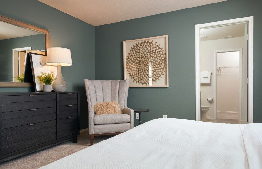 Bedroom featured in the Lincoln By Centex Homes in San Antonio, TX