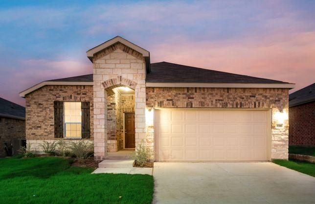 New Homes in Aubrey, TX