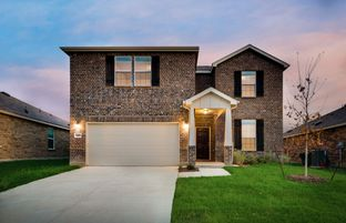Stockdale - The Woods of Conroe: Conroe, Texas - Centex Homes