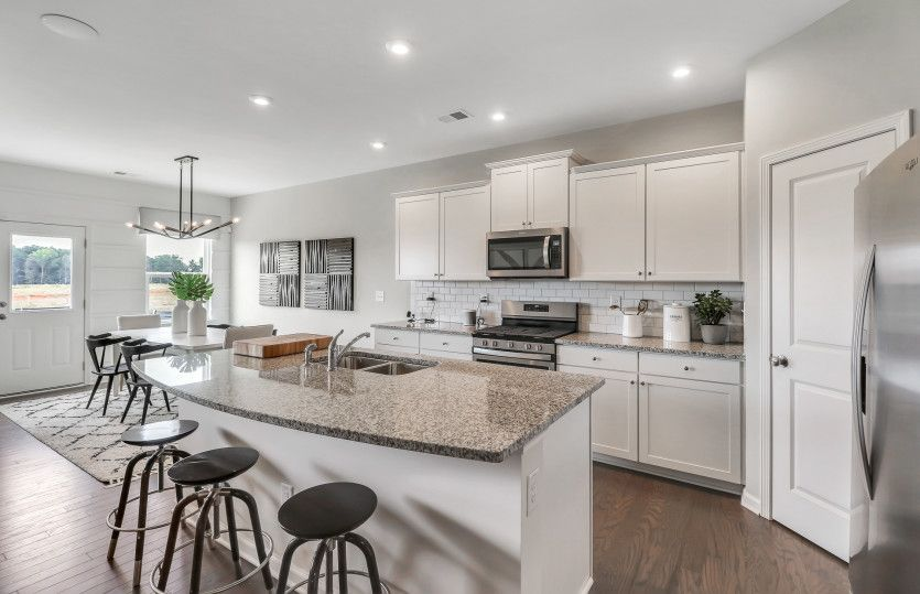 Kitchen featured in the Hampton By Centex Homes in Atlanta, GA
